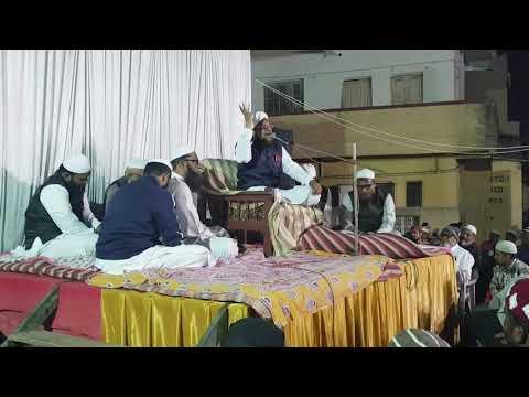 18/2 Public ro Padi. Maut Yaad dila diya..Valsad Gujrat me Mufti Haroon Nadvi Jalgaon Wale ka Bayan.
