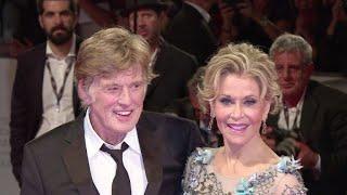 Robert Redford y Jane Fonda de nuevo juntos en filme en Venecia