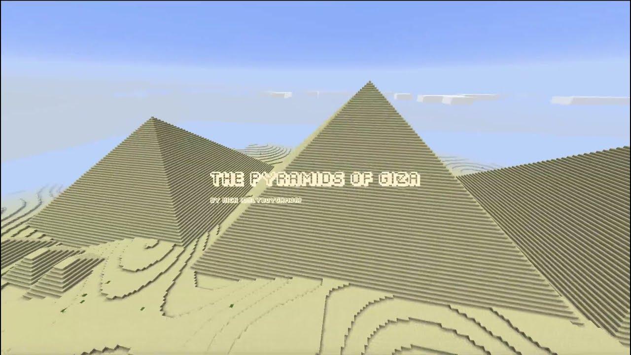 Build Pyramid In Minecraft