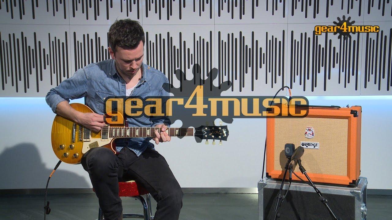6b9c2a71f68fd Orange Rocker 15 Guitar Combo Amp Demo - YouTube