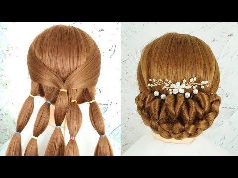 Gaya Rambut 2019 - Tutorial Gaya Rambut Kepang | Bun Hairstyle For Wedding