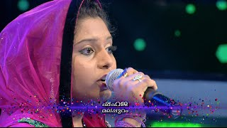 Pathinalam Ravu Season3 Shahaja singing