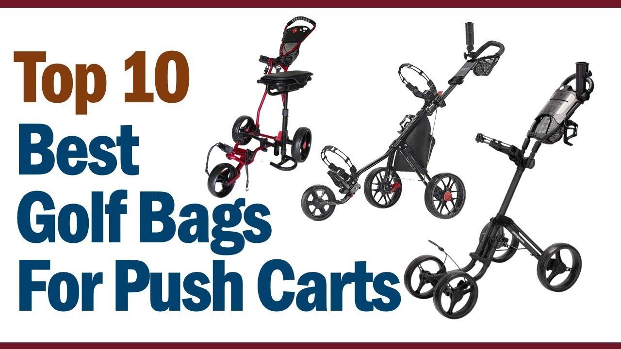 Best Golf Push Cart 2020 Best Golf Bags For Push Carts 2019 2020 || Top 10 Best Golf Bags