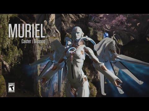 видео: paragon - Минутный Обзор Героя - Мюриэль (muriel)