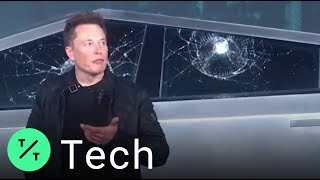 Smash Hit! Tesla Cybertruck Demo Goes Awry as 'Armor Glass' Windows Shatter
