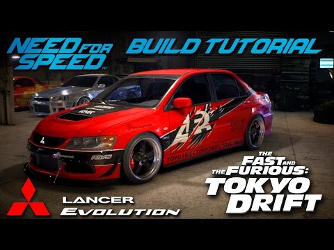 Need for Speed 2015 | Tokyo Drift Sean's Mitsubishi Evo Build Tutorial | How To Make