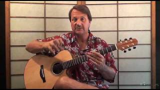 Freight Train acoustic Guitar lesson - Elizabeth Cotten