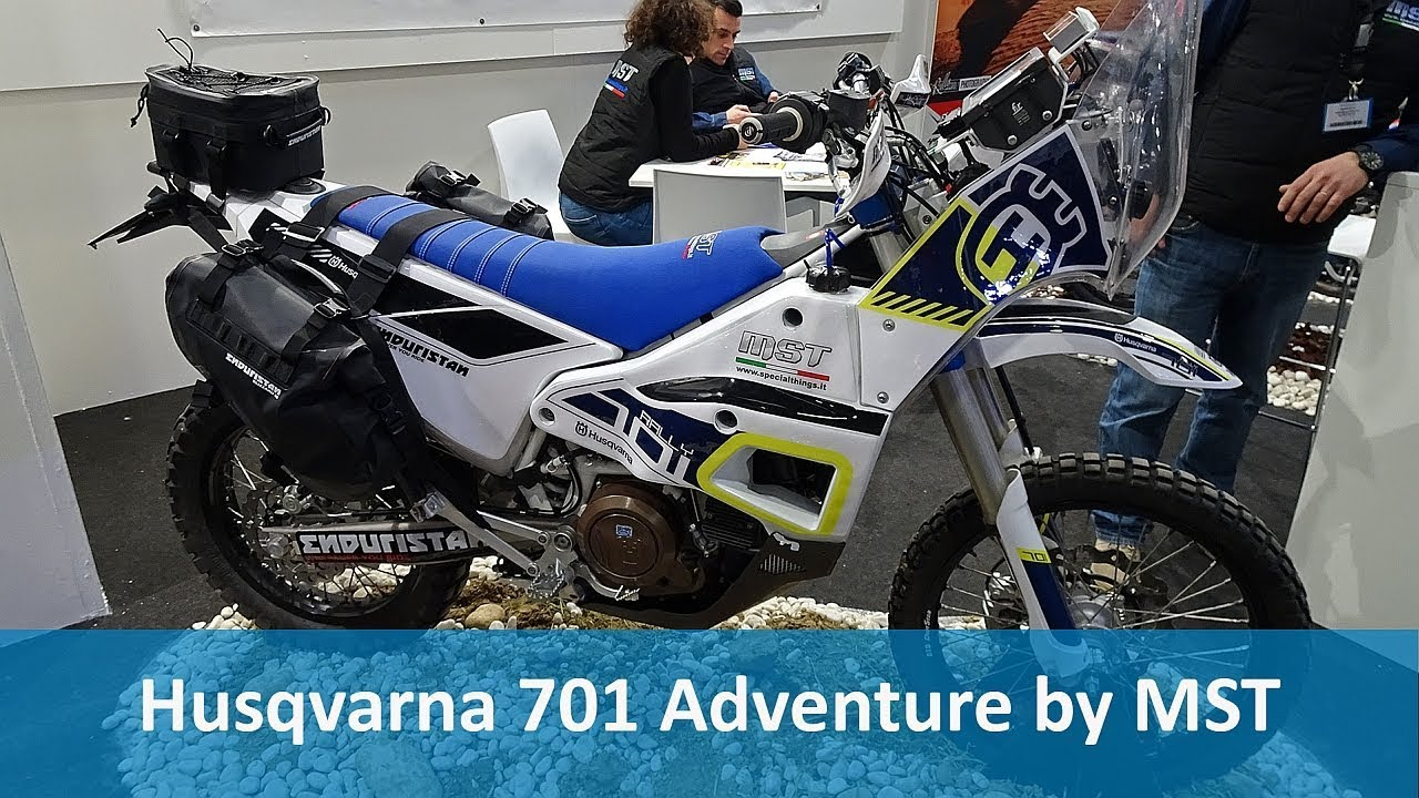 Husqvarna 701 Adventure by MST - YouTube