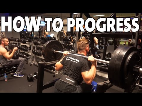 HOW TO Make Progress In The Gym (Effective Method)