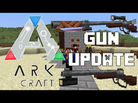 ARK in Minecraft ►GUNS◄ Update 1