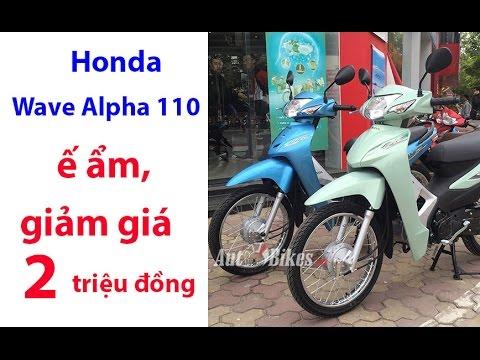 Wave Alpha 110 ế ẩm, Giảm Giá 2 Triệu đồng