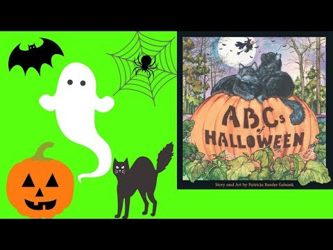 abcs of halloween book by patricia eubank stories for kids childrens books