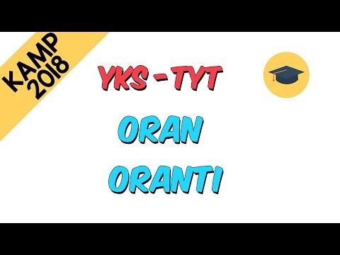 Oran Orantı | Kamp2018  (TYT - YKS)