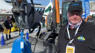 Video still for Vacuum Lifting Technology at World of Concrete 2020