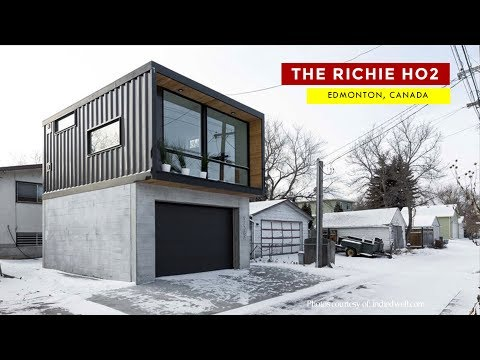 The Ritchie HO2: Honomobo Laneway Container Home in Edmonton