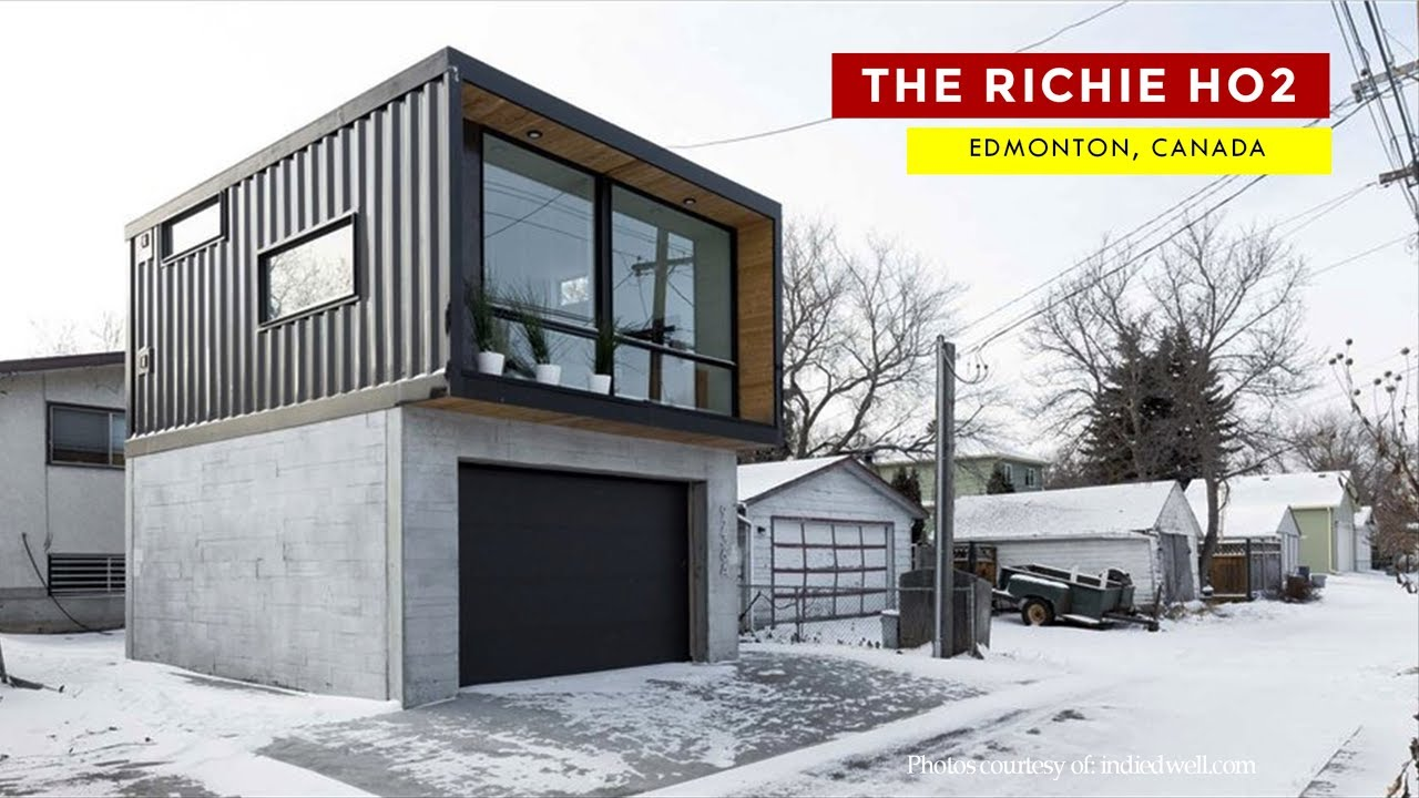 The Ritchie HO28: Honomobo Laneway Container Home in Edmonton