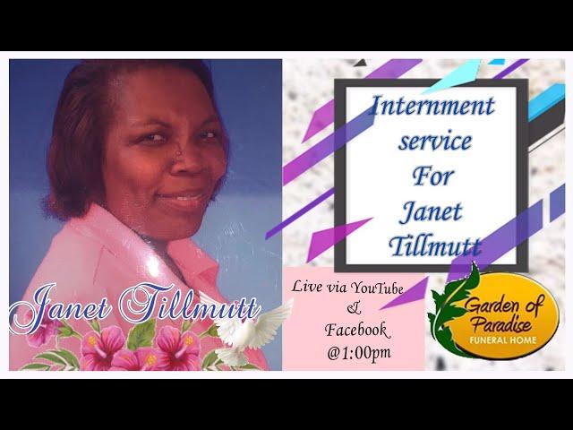 Internment Service for Janet Tillmutt