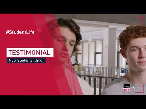 The new Students' Union at Télécom Paris (Eng subtitles)