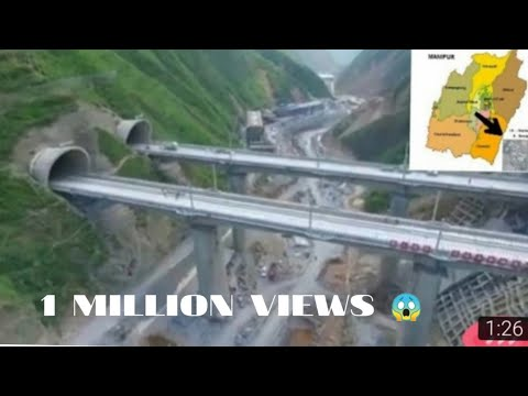 MANIPUR- world tallest railway bridge
