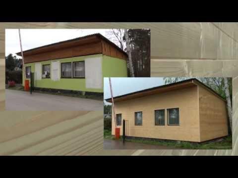 Fasáda zo smrekových paluboviek SECA - montáž drevenej fasády na rošt