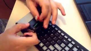 Беспроводная, водонепроницаемая, гибкая клавиатура
