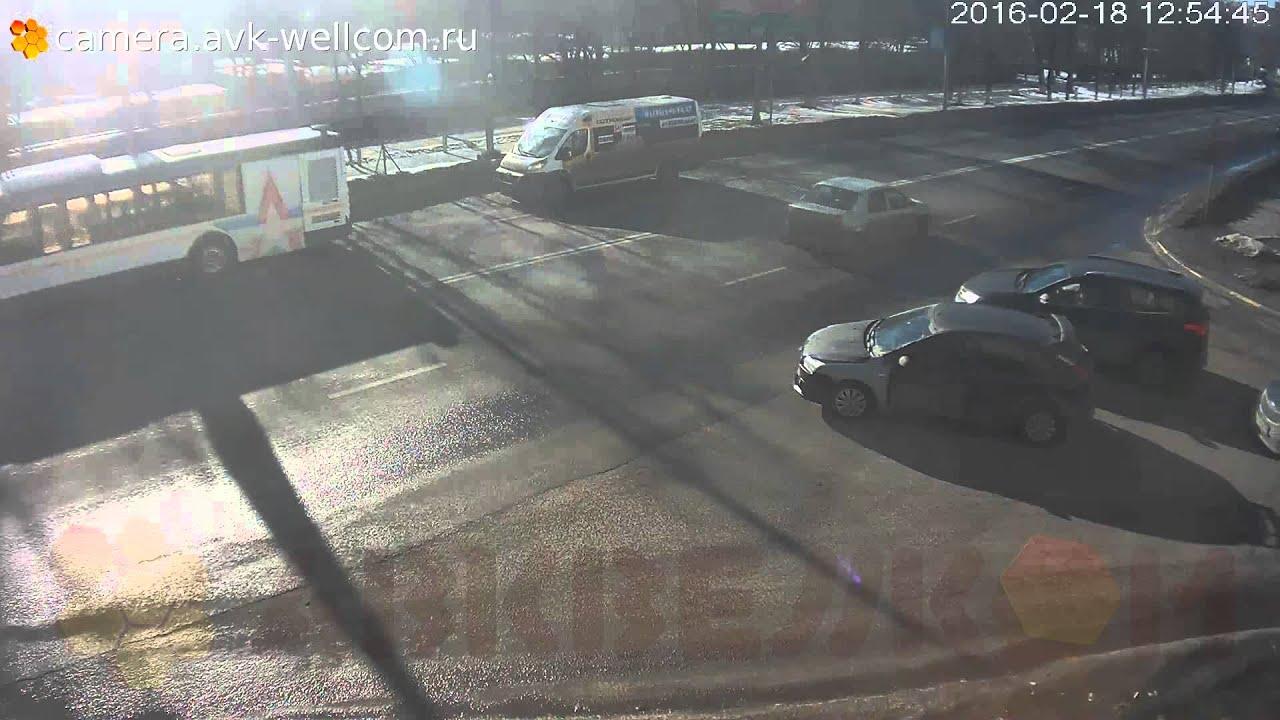 Авария г. Дзержинский, ул. Лесная, д. 2, 28.11.2016