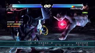 Tekken Tag 2 True Ogre Basic Solo Combos