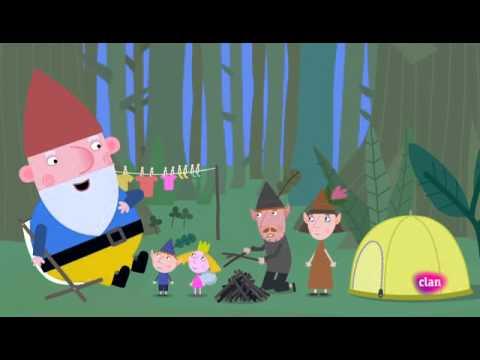 El pequeño reino de Ben y Holly, De acampada