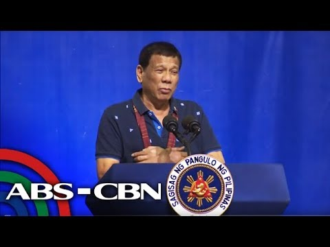 Pres. Duterte speaks