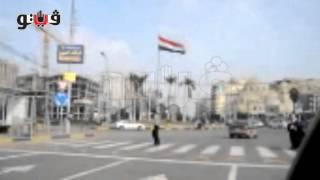 علم اليمن يتوسط ميدان الحجاز