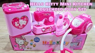 Hello Kitty Mini Kitchen Household Play Set for Kids