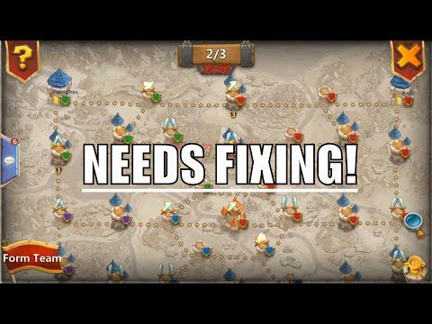 Castle Clash Fortress Feud BROKEN! Needs A Fix!