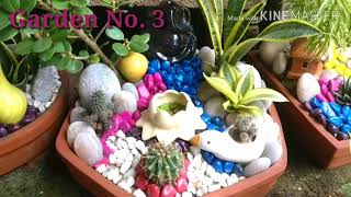 Here the making of Table top Garden or miniature garden at home is discussed in details. This is a tutorial on making a miniature garden or miniature landscape ...