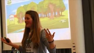 Lena (17) fordert die Lebensmittelbranche auf, 1.000 Milliarden Bäume zu pflanzen
