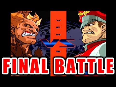 真・豪鬼 vs ファイナルベガ on ファイナルバトルモード - STREET FIGHTER ZERO3 [GV-VCBOX,GV-SDREC]
