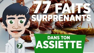 77 FAITS SURPRENANTS DANS TON ASSIETTE !! thumbnail
