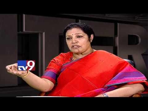 Daggubati Purandeswari in Encounter With Murali Krishna || TV9