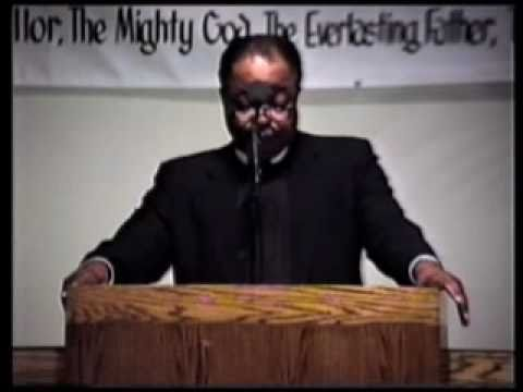 Suff.Bishop Melvin Boyd at Greater Bible Way Temple  (pt1)