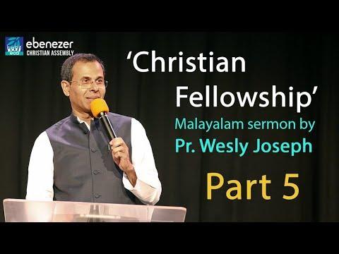 'Christian Fellowship' Part 5 - Pr. Wesly Joseph, at ECA Melbourne