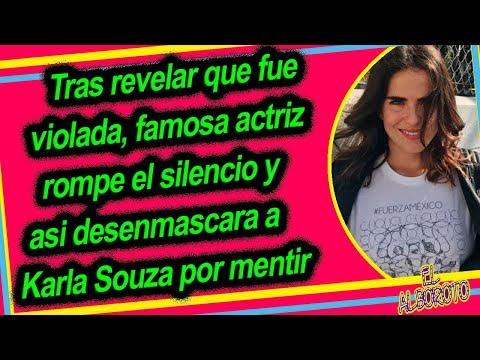 Actriz Mexicana revela que Karla Souza mintio y jamas la vi0Iada