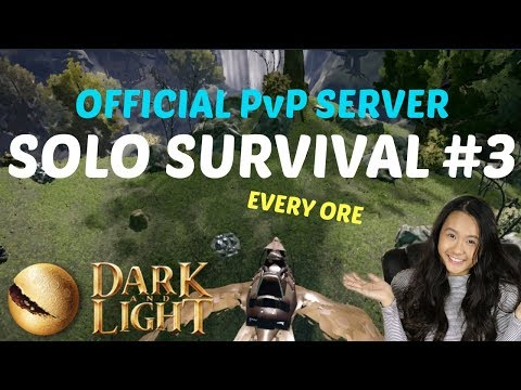 Best Spot For Rare Resources - Official PvP Server - Dark and Light