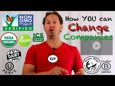 How to Get BIG Companies & Products to Change | Non GMO Project | Certified Organic | Gluten Free |
