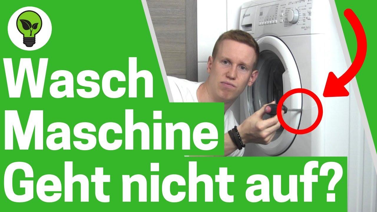 Häufig Waschmaschine Tür geht nicht auf? ✅ ULTIMATIVE ANLEITUNG SR31