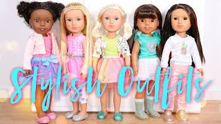 Glitter Girls Stylish Outfits playset review