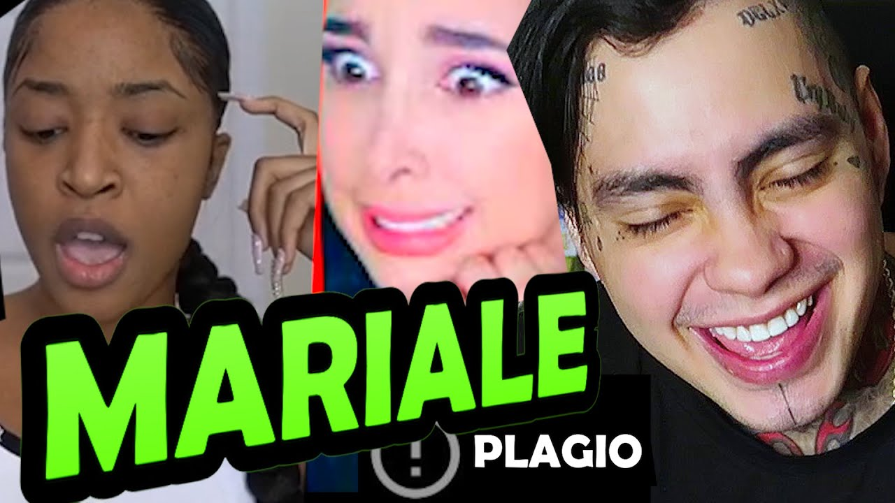 MARIALE PLAGIA A YOUTUBER.