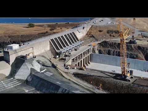 Oroville Dam Rebuild Update - Nov 3 2018 - Emergency Spillway is complete!