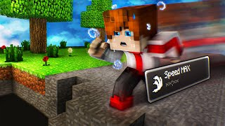 Speed Maximum pour finir Minecraft ? (c'était stressant)