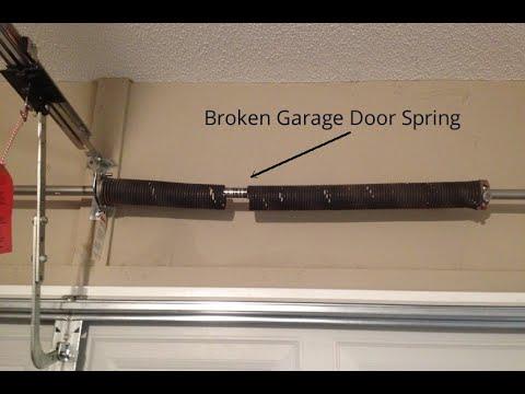 Replacing Your Garage Door Springs? Visit Our Online Parts Store!
