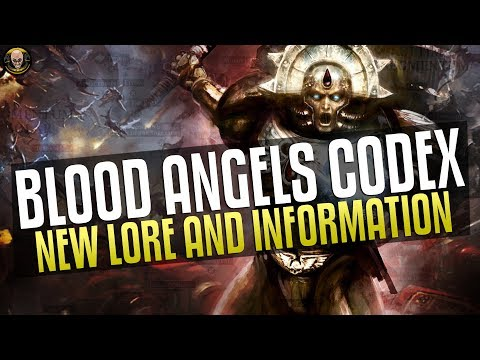 Blood Angels Codex - New Lore and Information