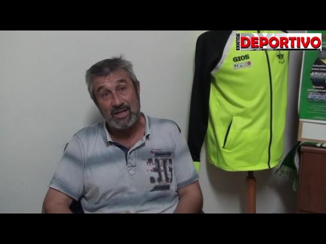 Vídeo entrevista con Pepe Fuster, directivo responsable del fútbol base del CF Benidorm